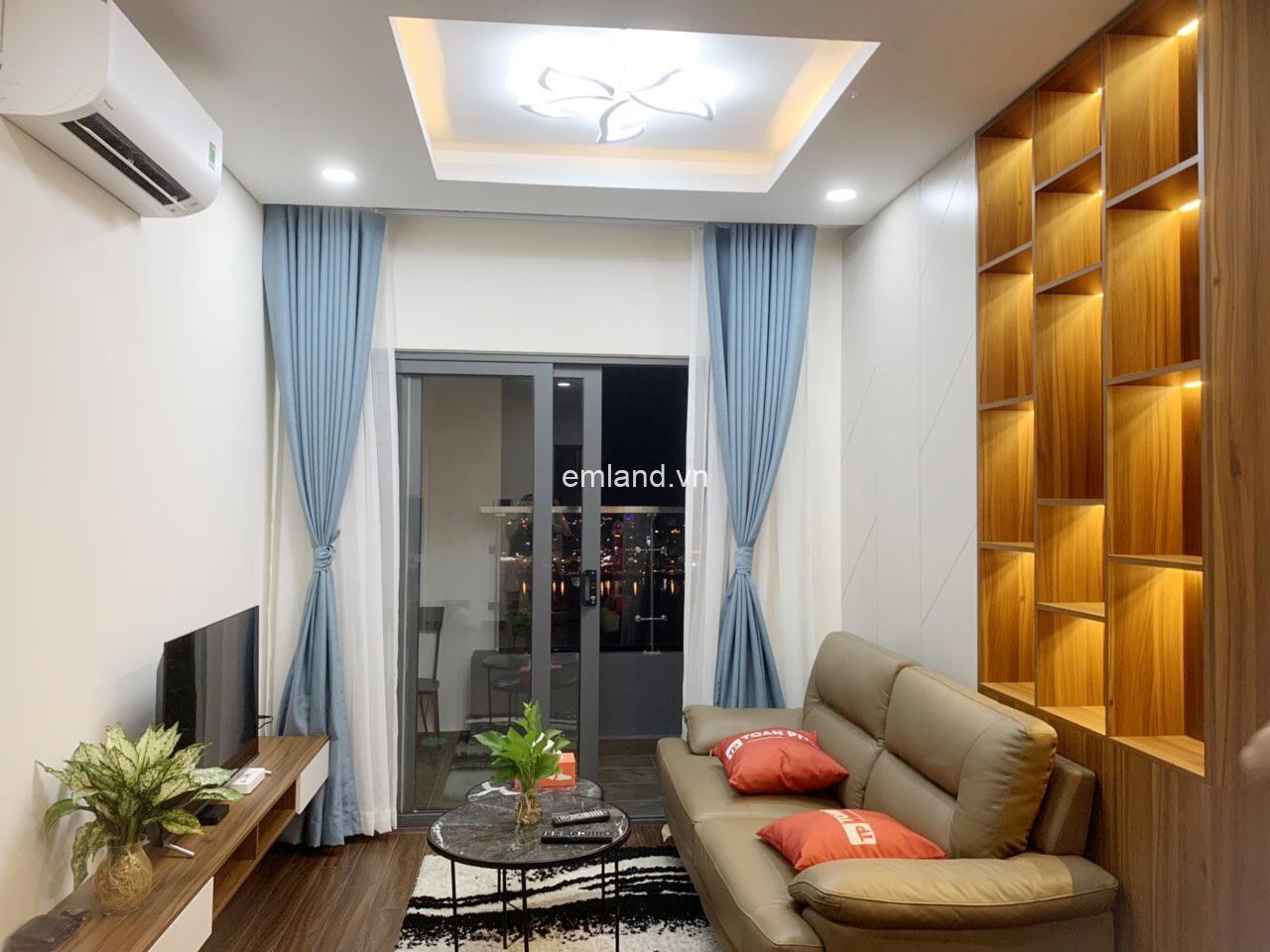 Cho thuê căn hộ Monarchy , Giá 14 triệu/ tháng, tầng cao ,view sông